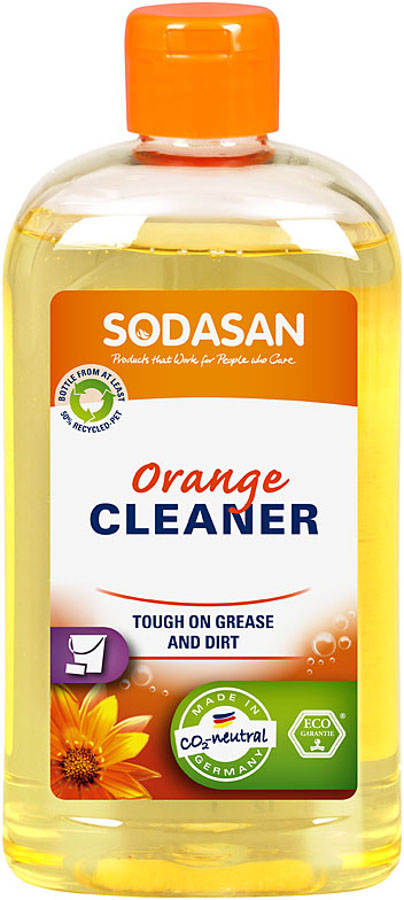 Sodasan Orange All Purpose Cleaner - 500ml