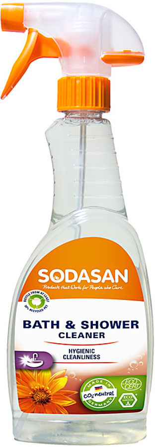 Sodasan Bath & Shower Cleaner - 500ml