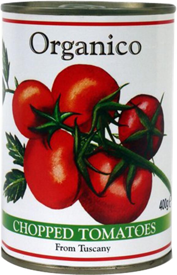 Organico Chopped Tomatoes - 400g