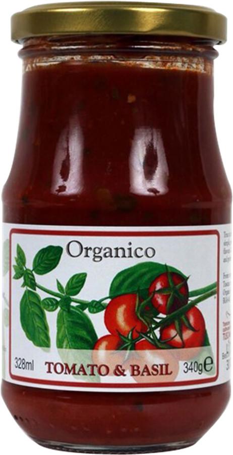 Organico Tomato & Basil Pasta Sauce - 340g