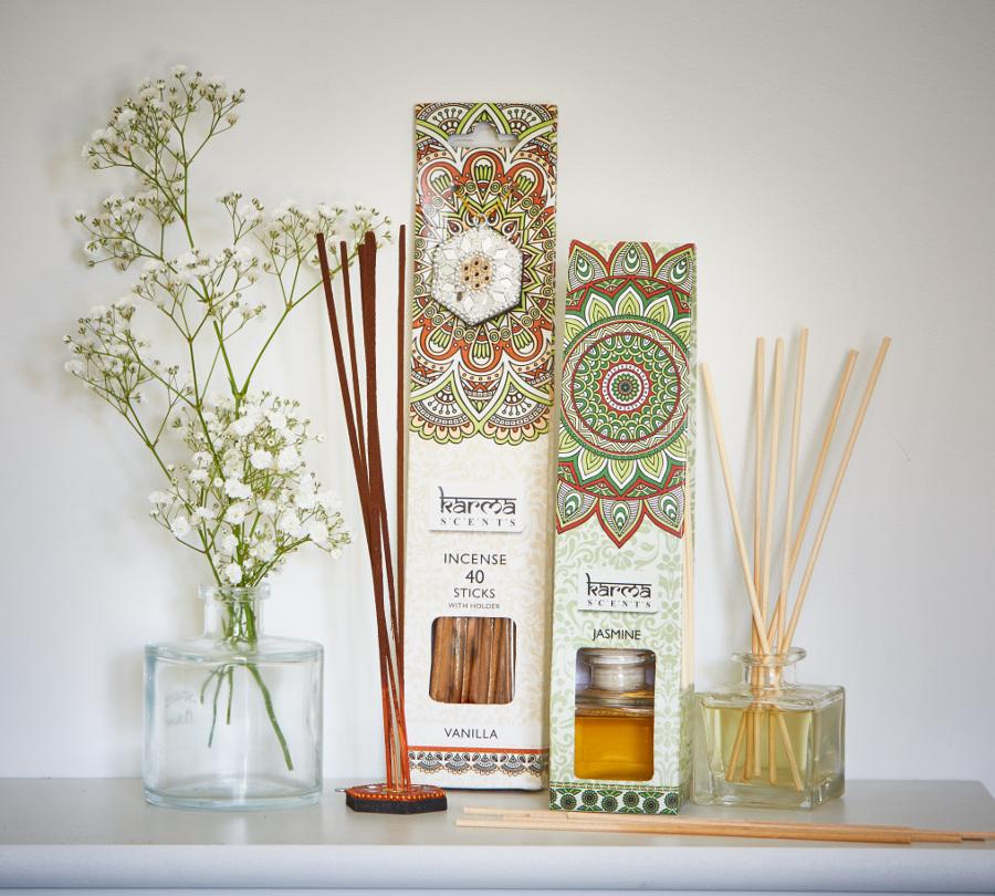 Natural Collection Incense Sticks & Holder