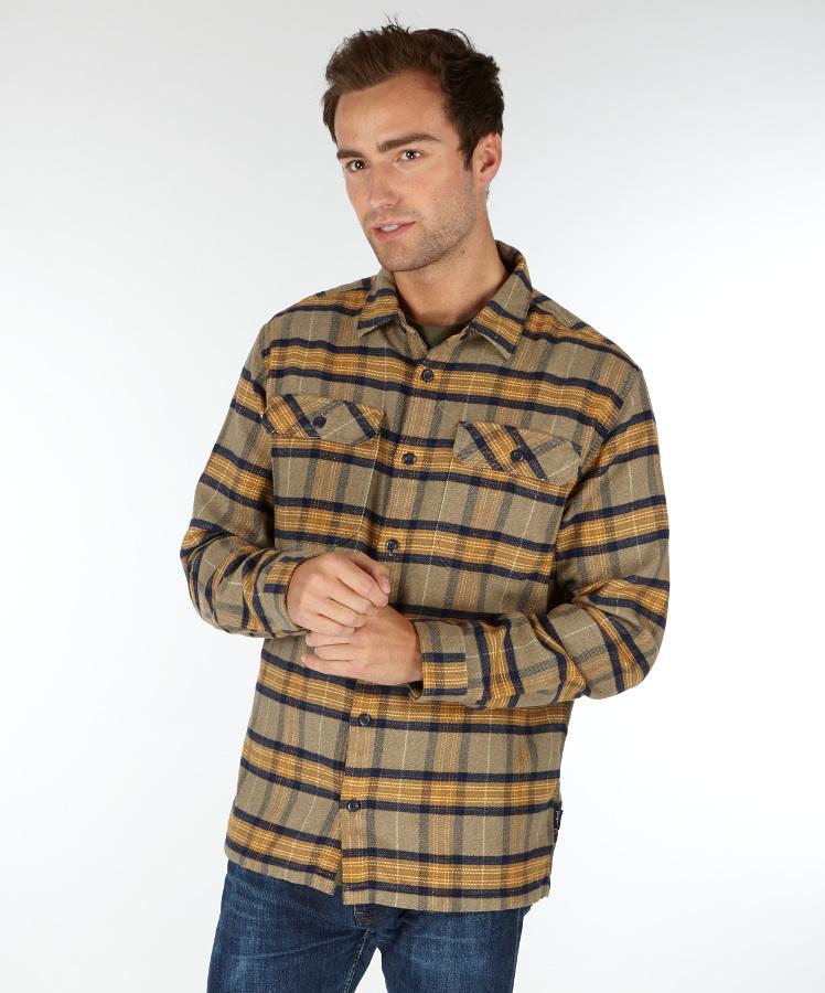 Patagonia Mens Migration Plaid Fjord Flannel Shirt