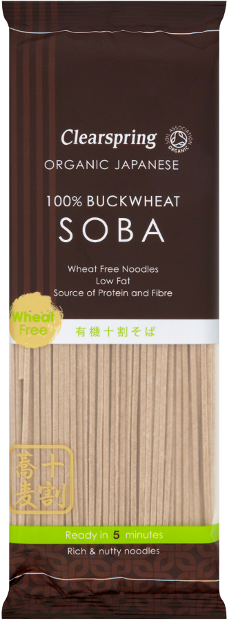 Clearspring All Buckwheat Soba Noodles - 200g