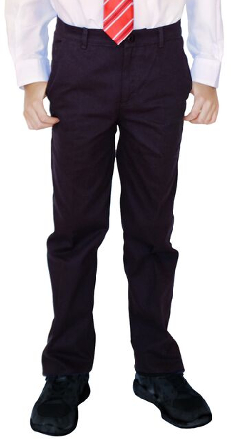 Image of Boys Classic Fit Trousers - Black - 3yrs+