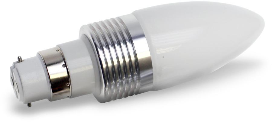 B22-240 Lumilife LED Bayonet Light Bulb 3 Watt (40W Equivalent) - Cool White