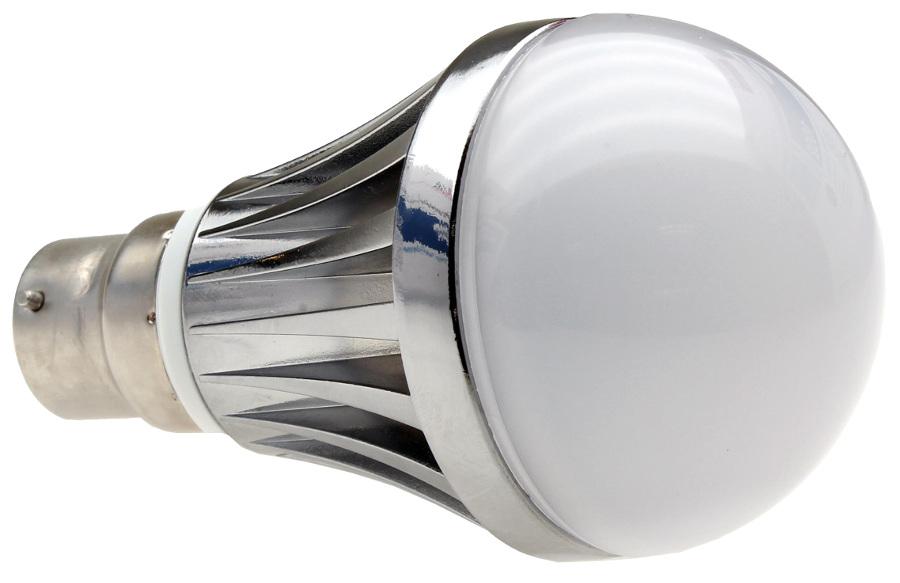 B22-400 Lumilife LED Bayonet Light Bulb 5 Watt (60W Equivalent) - Warm White