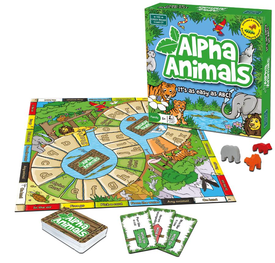Alpha Animals Board Game