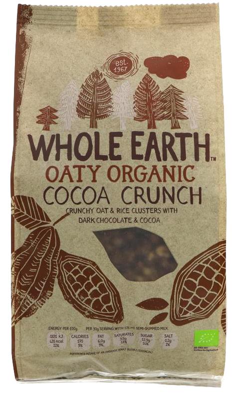Whole Earth Organic Cocoa Crunch - 375g
