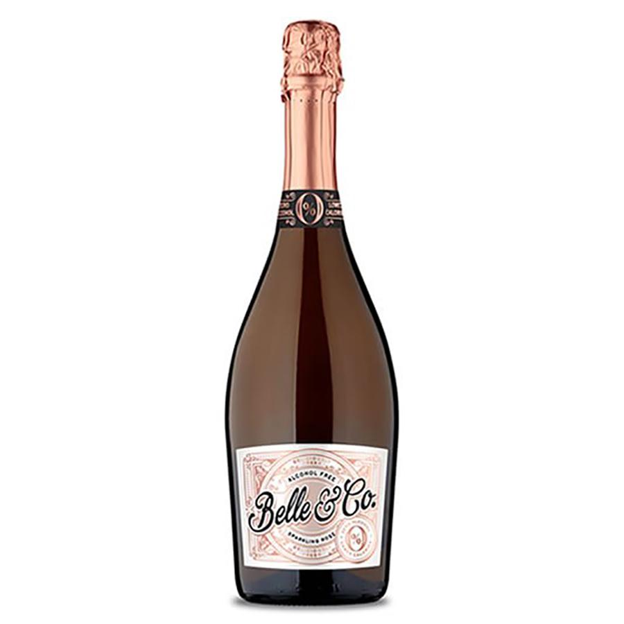 Belle & Co Alcohol Free Sparkling Rose