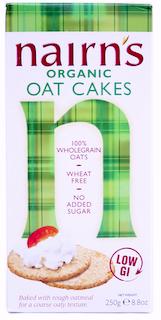 Nairns Organic Oatcakes - 250g