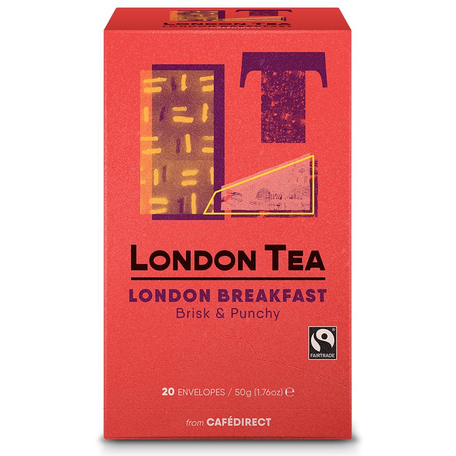 London Tea Company Fairtrade London Breakfast Tea - 20 bags
