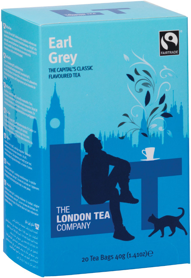 London Tea Company Fairtrade Earl Grey Tea - 20 bags
