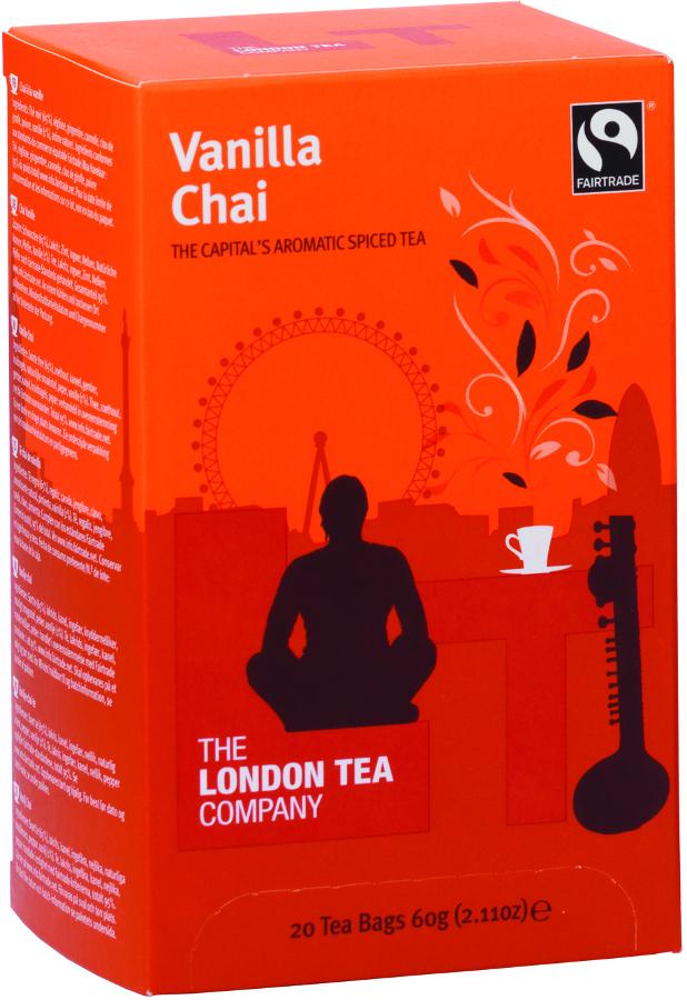London Tea Company Fairtrade Vanilla Chai Tea - 20 bags