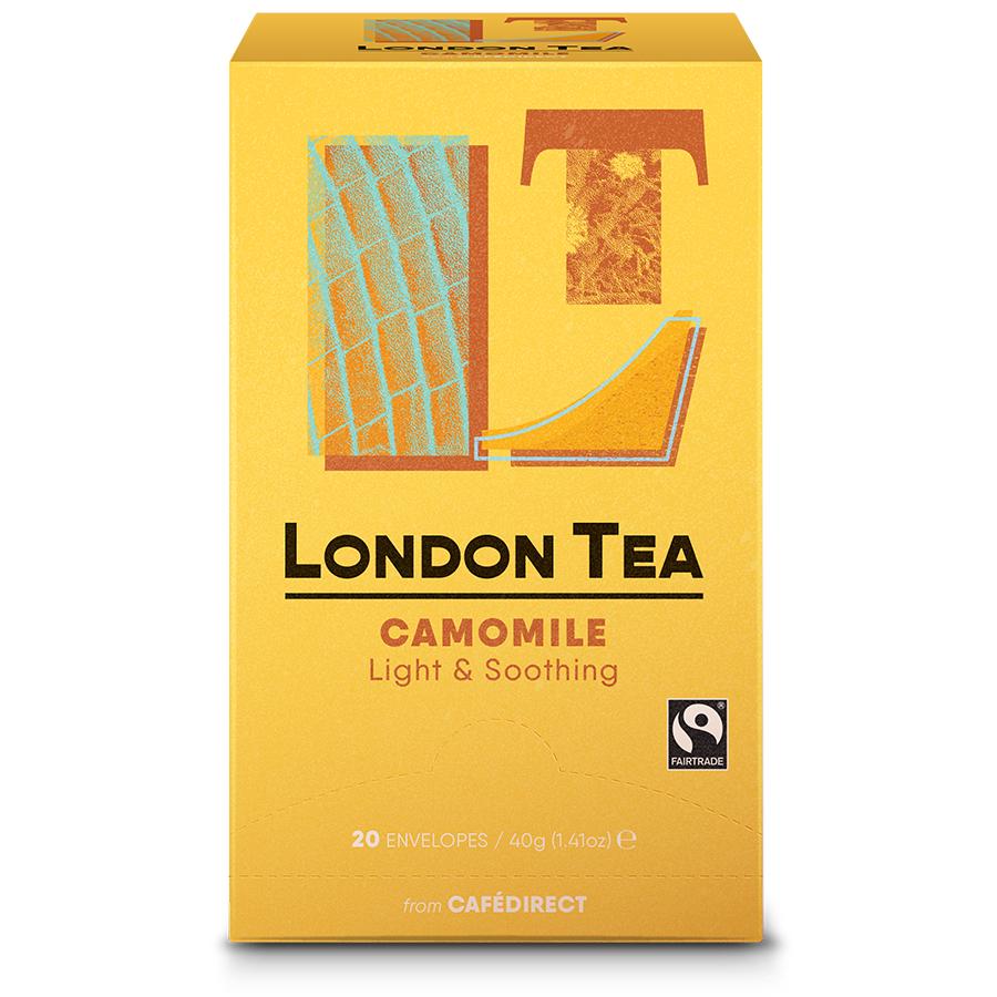 London Tea Company Fairtrade Pure Camomile Tea - 20 bags