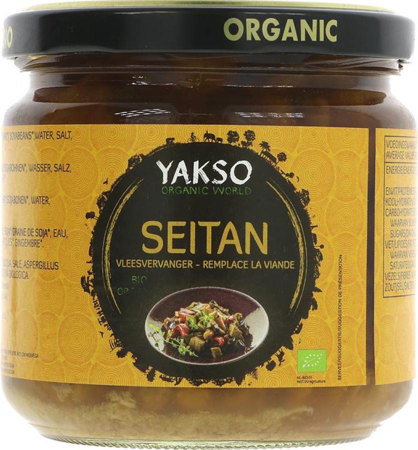 Yakso Seitan in Tamari - 330g