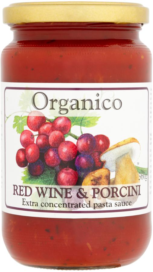 Organico Red Wine & Porcini Sauce - 360g