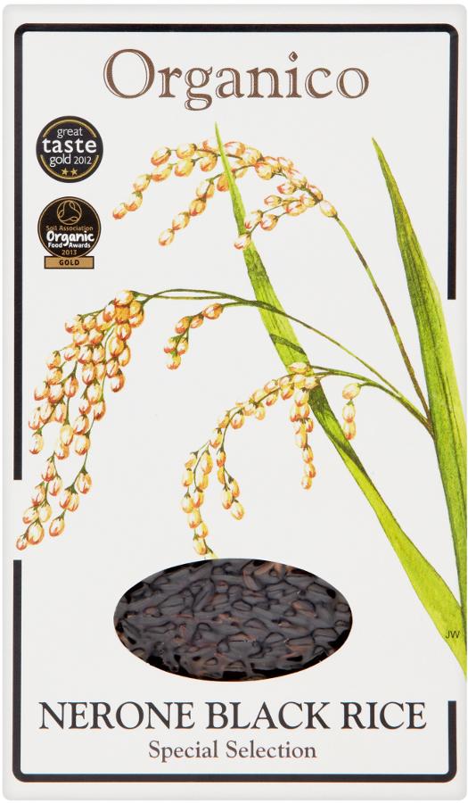 Organico Wholegrain Nerone Black Rice - 500g