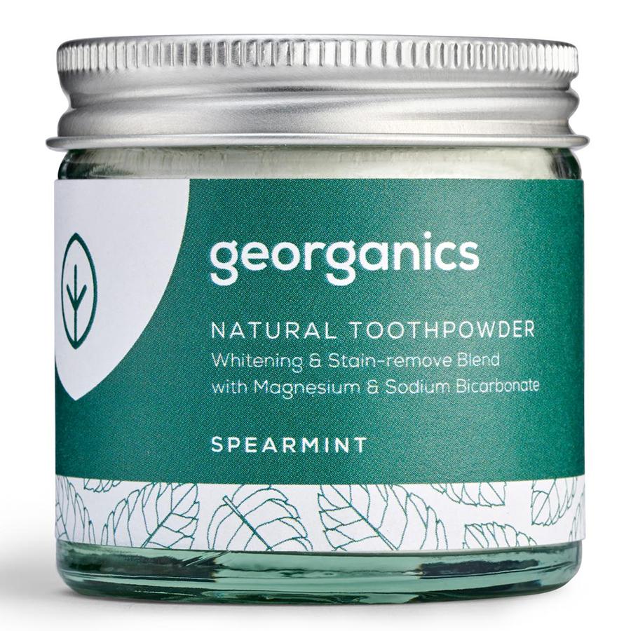 Georganics Natural Toothpowder - Spearmint - 60ml - Georganics