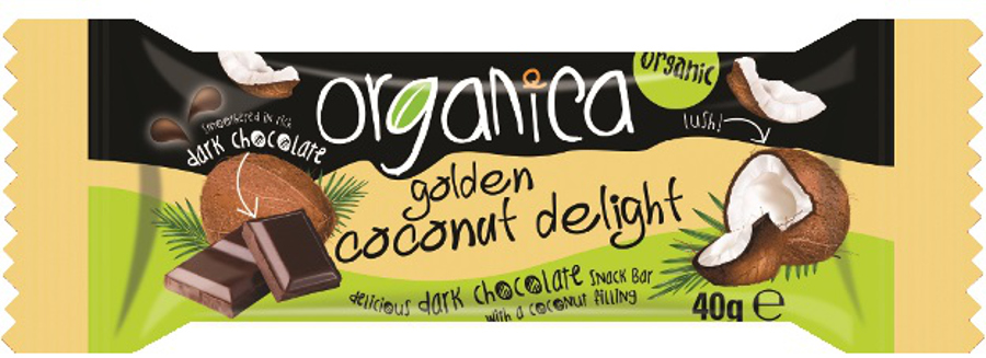 Organic Food Bar Brand Chocolate Coconut
