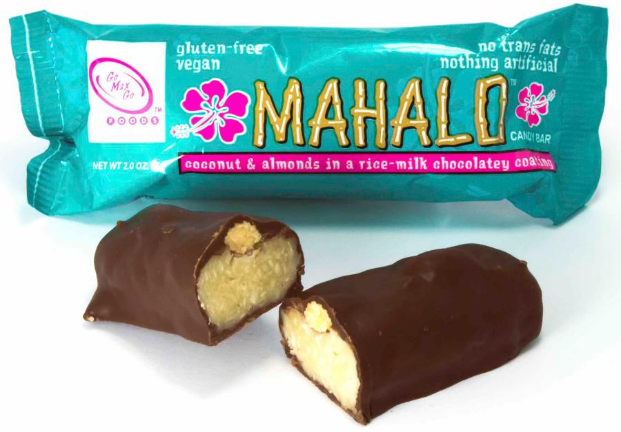 Go Max Go Mahalo Vegan Chocolate Bar - 57g