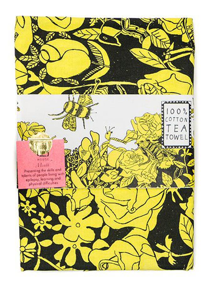 ARTHOUSE Unlimited Bee Free Tea Towel
