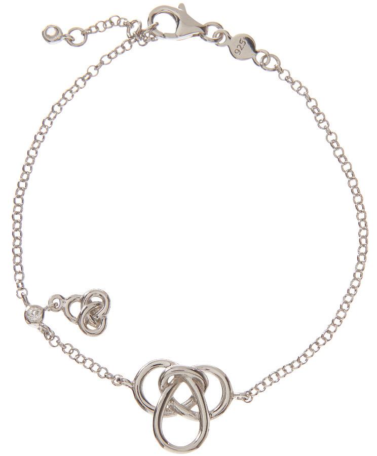 Kashka London Hope Silver Bracelet