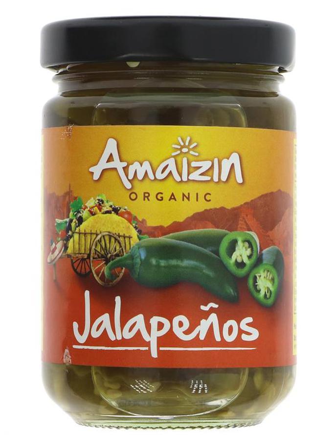 Amaizin Organic Jalapenos - 150g
