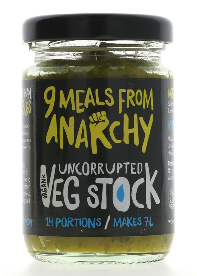 Nine Meals From Anarchy Uncorrupted Veg Stock - 105g