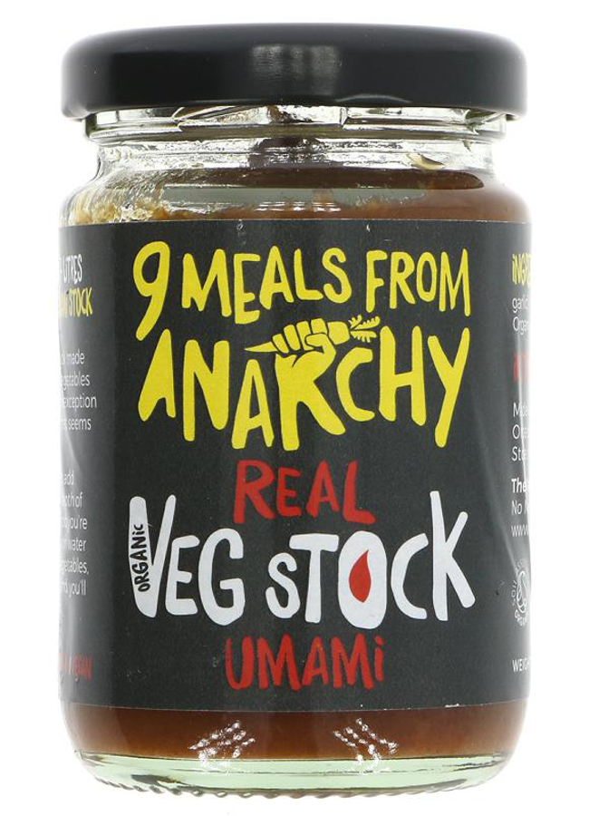 Nine Meals From Anarchy Real Veg Stock - Umami - 105g