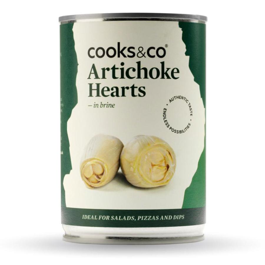 Cooks & Co Artichoke Hearts in Brine - 390g