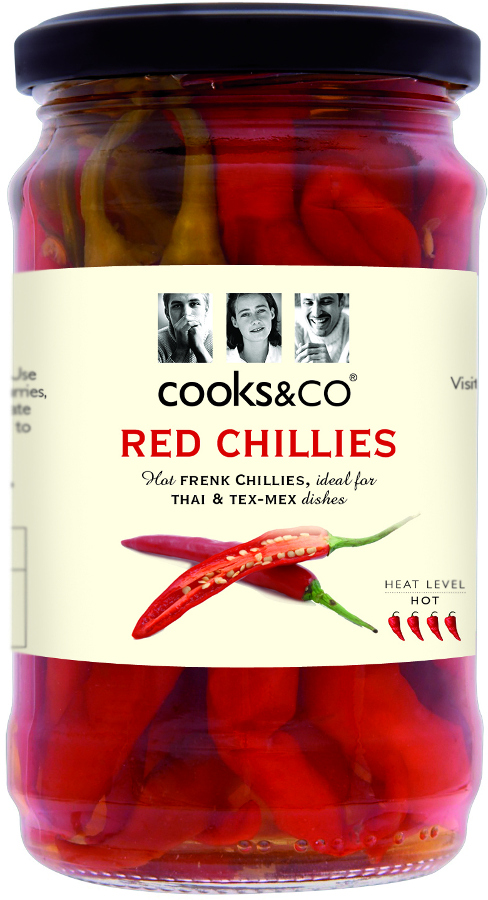 Cooks & Co Whole Red Chillies - 300g