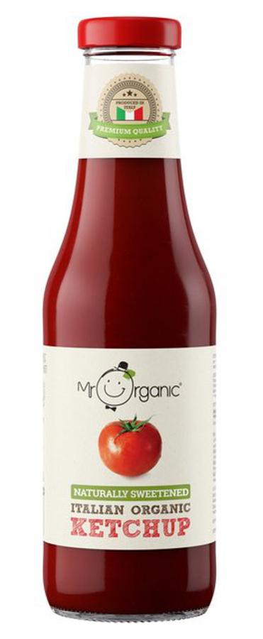 Mr Organic Naturally Sweetened Tomato Ketchup - 480g
