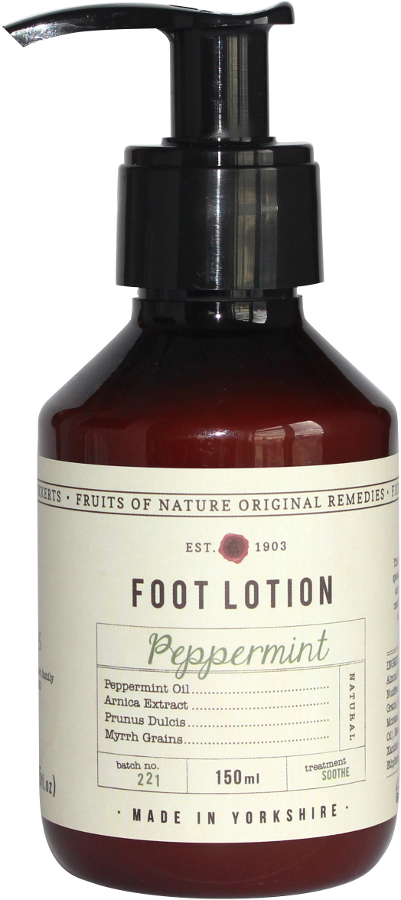 Fruits of Nature Peppermint Foot Lotion - 150ml