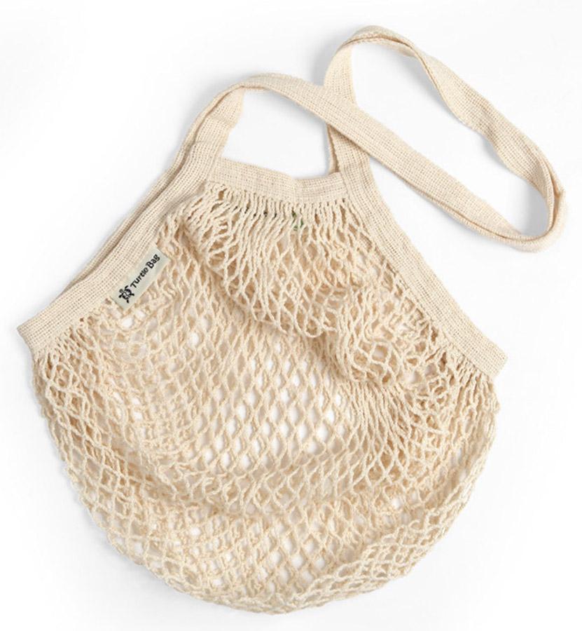 Organic Long Handled String Shopping Bag