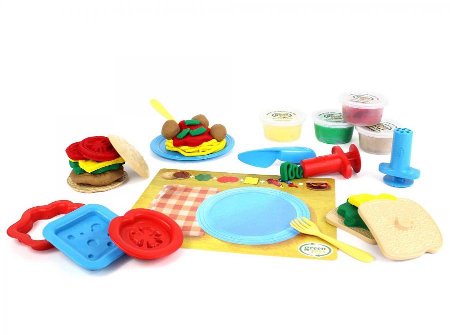 Green Toys Meal Maker Dough Set