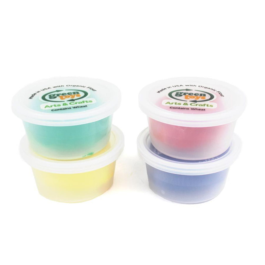 Green Toys Play Dough - Pack of 4