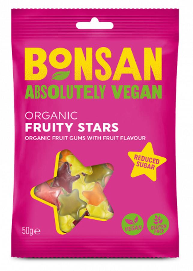 Bonsan Vegan Fruity Stars - 50g