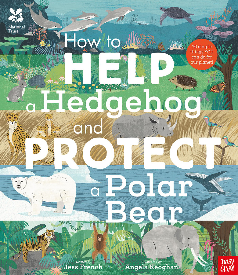 How to Help a Hedgehog and Protect a Polar Bear Hardback Book