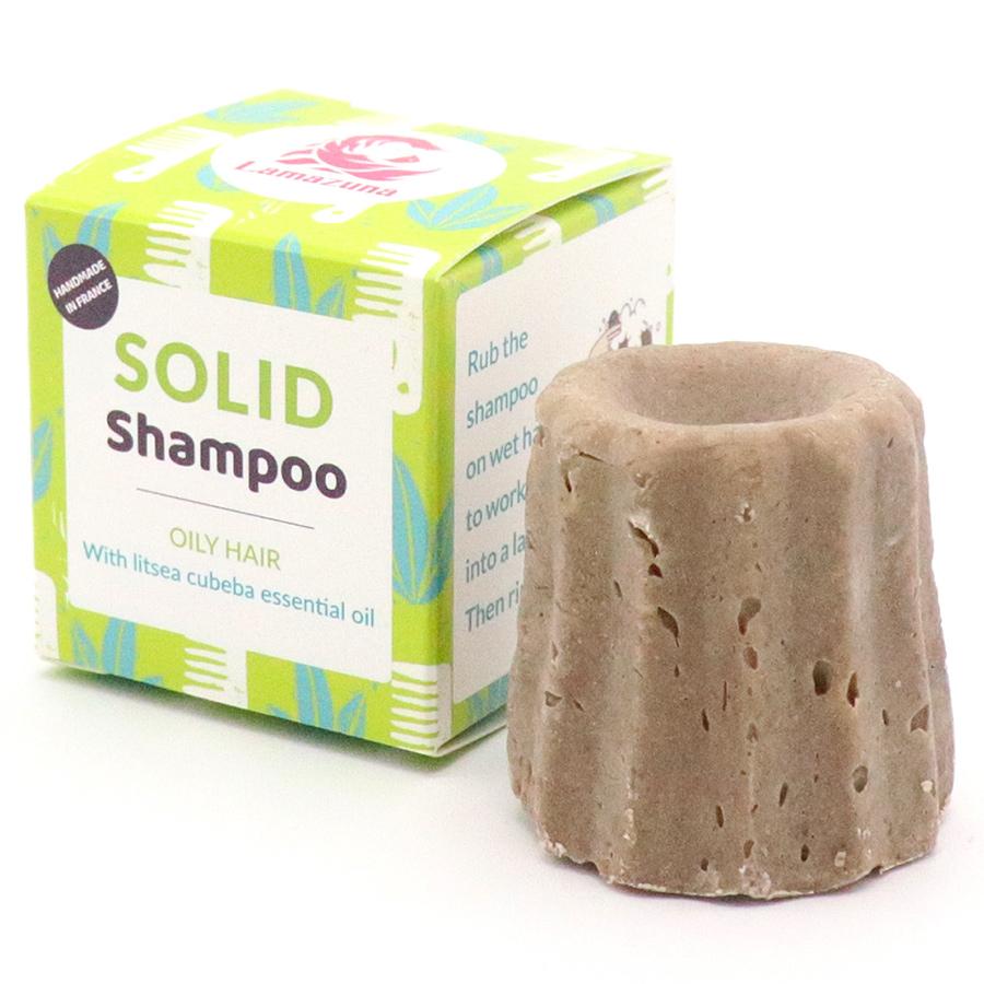 Lamazuna Solid Lemon Shampoo - Oily Hair - 55g