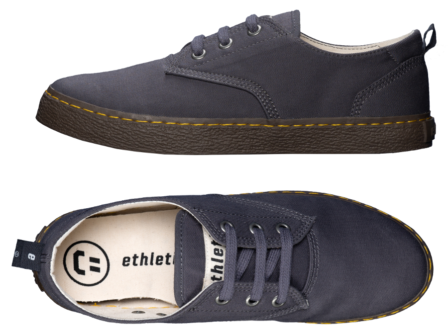 c8e8f08f68a Ethletic Fairtrade Brody Skater Shoes - Pewter Grey - Ethletic