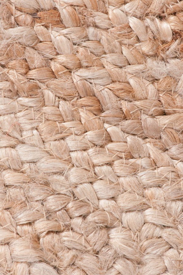 Hand Braided Jute Rug Natural Collection Select