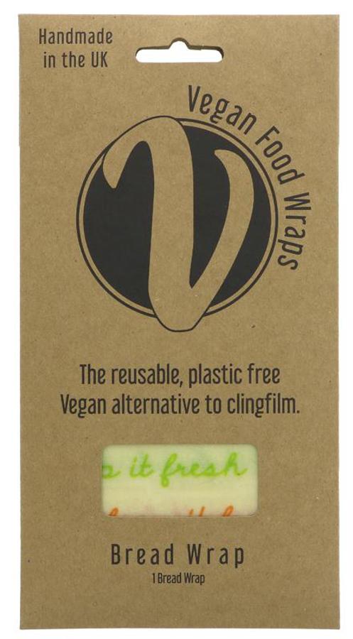 The Vegan Food Wrap Company Reusable Bread Wrap