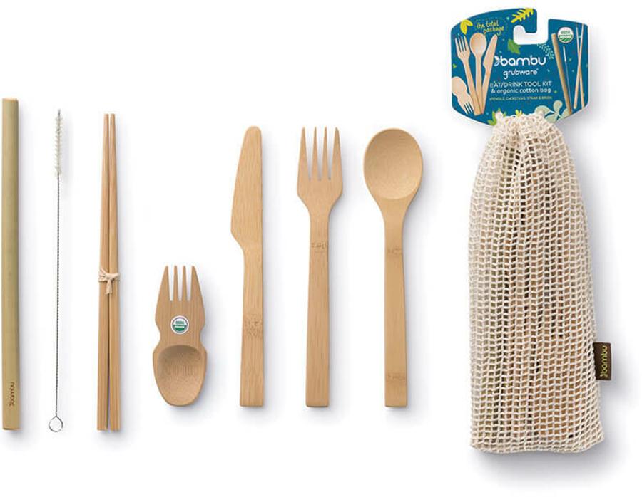 Bambu Reusable Eat & Drink Tool Kit