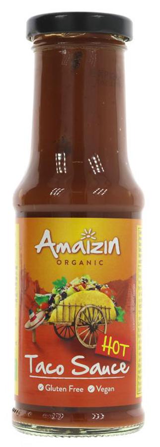 Amaizin Organic Hot Taco Sauce - 220g