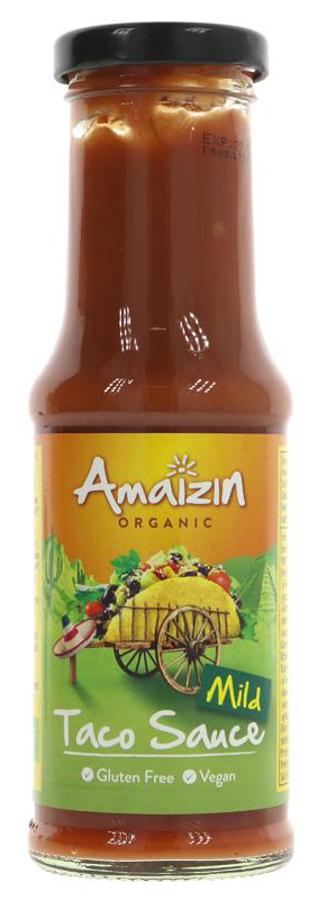Amaizin Organic Mild Taco Sauce - 220g
