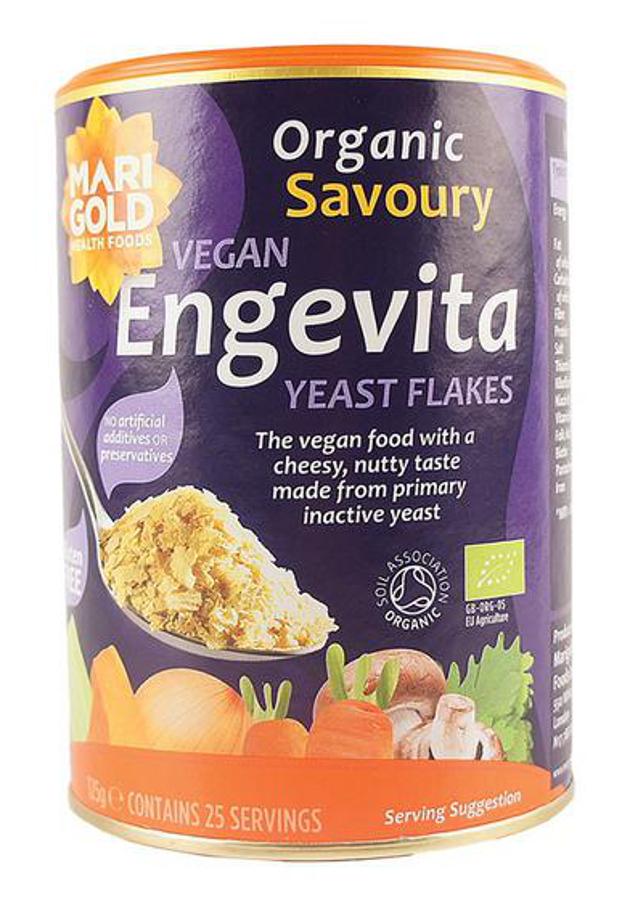 Engevita Organic Yeast Flakes - 125g