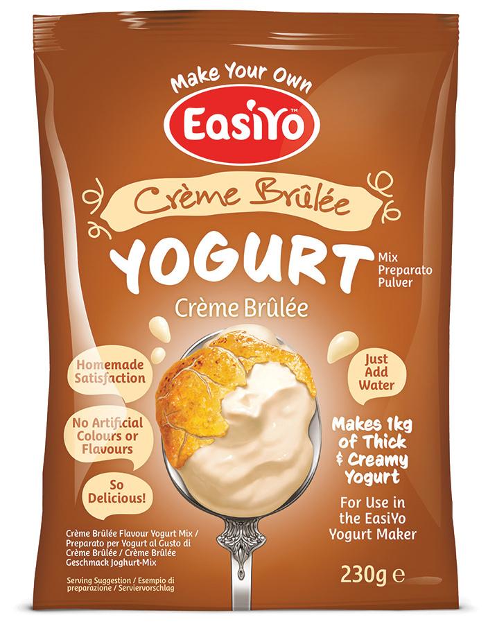 Easiyo Creme Brulee Yoghurt - 230g