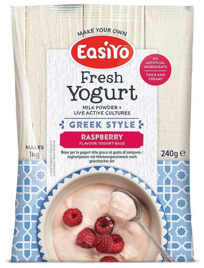 Easiyo Greek Style Raspberry Yoghurt - 240g