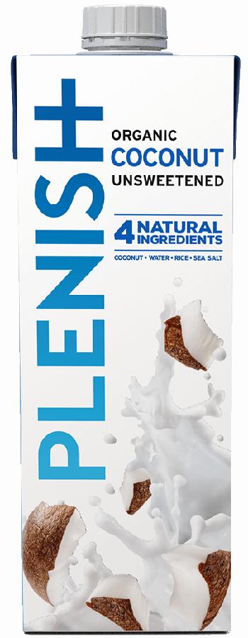 Plenish Organic Coconut Milk - 1L