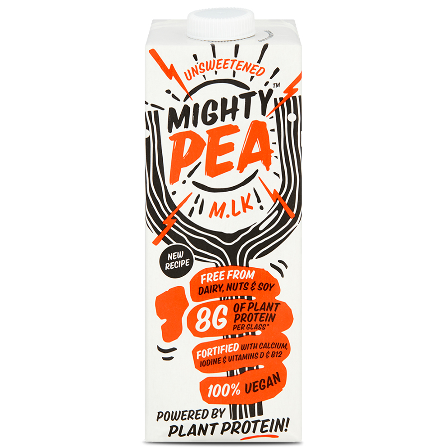 The Mighty Society Pea Milk Unsweetened - 1L